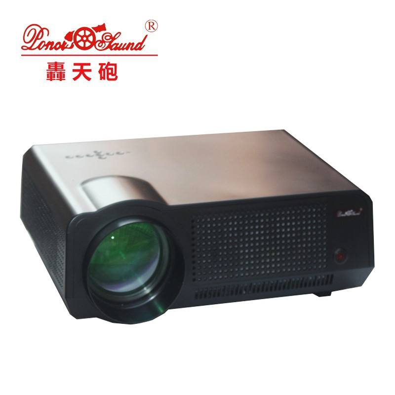2000 Lumens 1080p hd led LCD projector