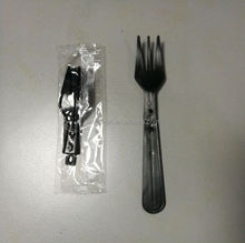 Extended Length 110mm Plastic PP folding plastic fork Disposable