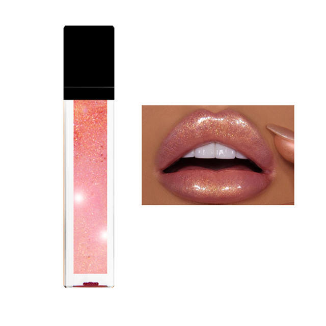 21 Colors China cosmetics vendors lipgloss lip stick private label clear waterproof lip gloss