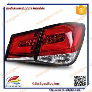 2009-2014 Korea Tuning Year For Chevrolet Cruze Led Rear Light Red Black Color