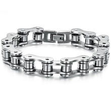 Titanium steel jewelry wholesale, retro male titanium steel bracelet, factory direct sale YSS1048
