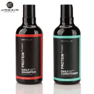 OEM/ODM JINGXIN Argan Oil Deep Conditionerฉลากส่วนตัวOLIVE hair regrowth ShampooและConditioner set