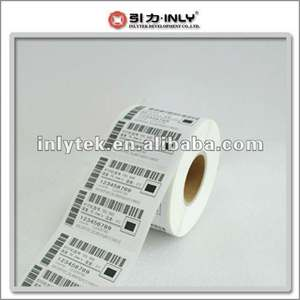 OEM factory UPC barcode paper label thermal transfer label