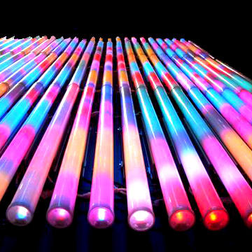 3D effect led pixel tube DMX RGB led pixel tube for club, stage