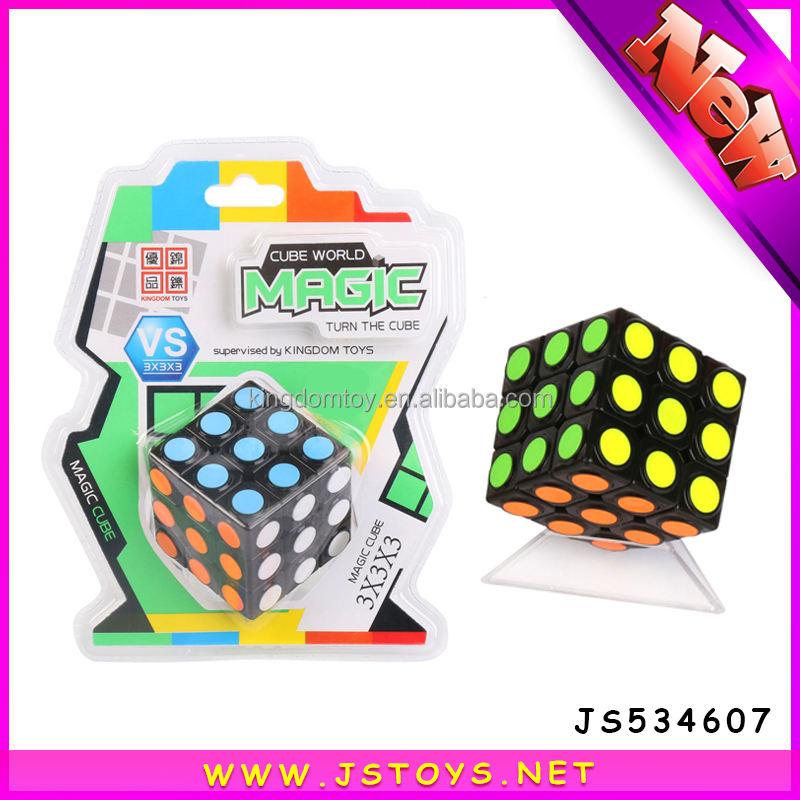 뜨거운 판매 교육 장난감 속도 큐브 3x3x3 새로운 제품