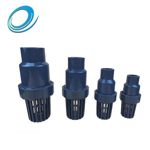 High pressure 3 inch bottom valve upvc pipe fittings with good heat resistance