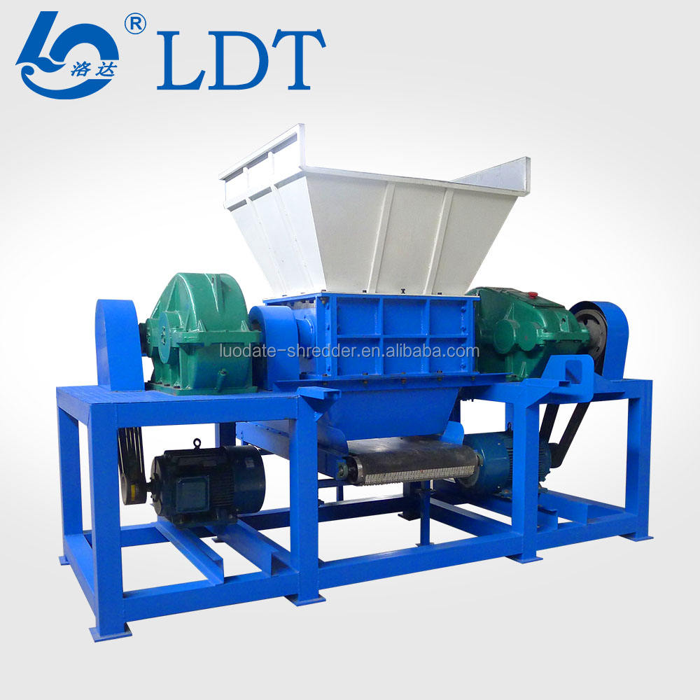 ISO CE small shredder or recycle tire machine and tire scrap waste tyre recycling machinery rubber granules or rubber powder