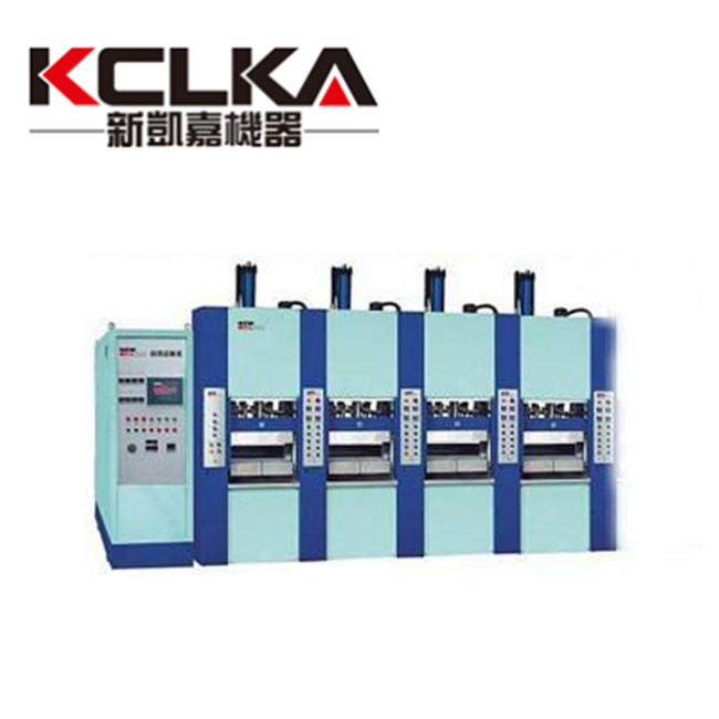 KCLKA Automatic 4 Station EVA Injection Sport Shoe Sole Making Machine Sandal Making Machine With Servo Motor