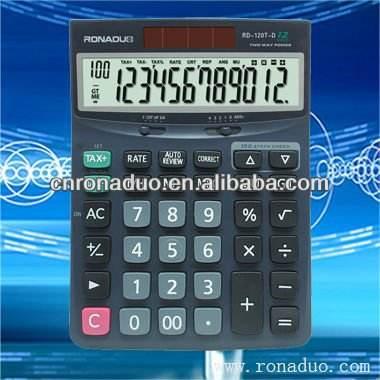 Ciudadano mismo casio calculadora de estilo de verificar y corregir calculadora de escritorio dj-120t