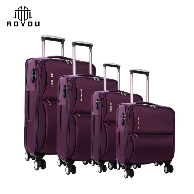 "Luggage wholesale price cheap luggage wanxiang wheel luggage set of 4 16 ""20"""