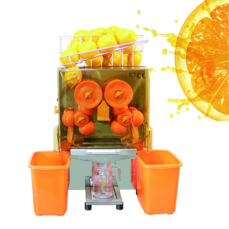 Fruit bar orange saft citrus saft, der maschine preis automatische orange saft maschine