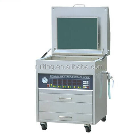 YG-8060 goo quality plate-making machine letterpress photopolymer plate maker