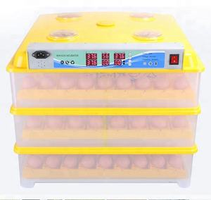 Top selling newly design full automatic mini egg incubator hatching 294 eggs for sale