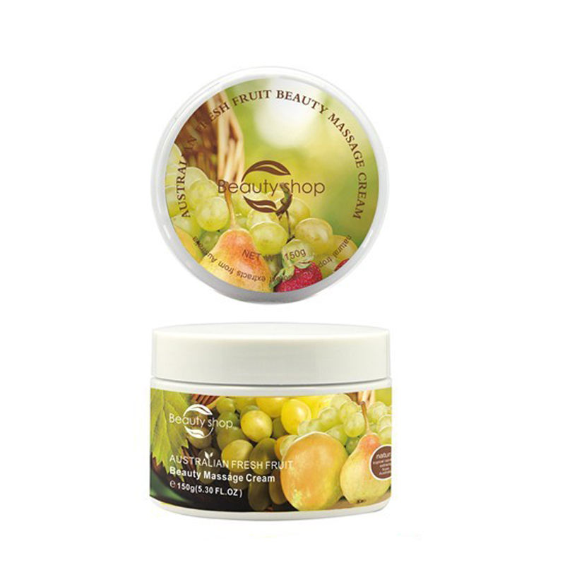 Australian natural fruit facial massage cream body massage whitening cream
