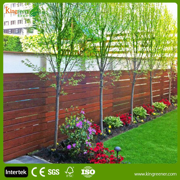 Factory direct sale cheap fence panels manufacturer ANTI UV WPC Fence