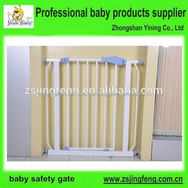 più venduto prodotti per la sicurezza del bambino metallo porta di protezione chlid <span class=keywords><strong>cancello</strong></span> di sicurezza auto vicino baby gate