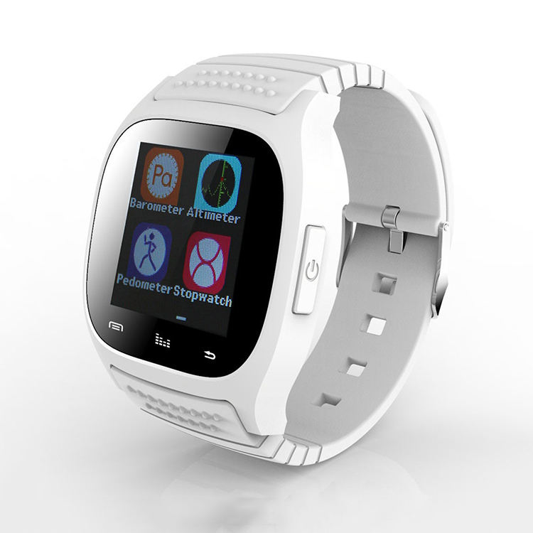 Smartwatch Android M26 bluetooth vibrating cổ tay watch với pedometer