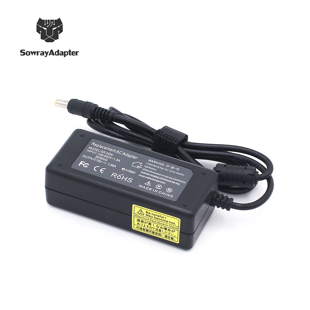 Wholesale Laptop AC Adapter 30W 19V / 1.58A AC Charger For Acer asus DC Power Supply