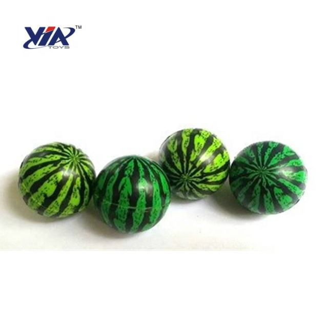 VIA Promotional Toy Bouncy ball high bounce Watermelon ball 27 32 35 38 45 49mm