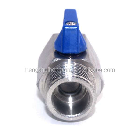 mini ball valve for water air oil and gas