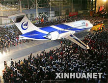 China 78 to 90 seats passenger jet aircraft ARJ21 700