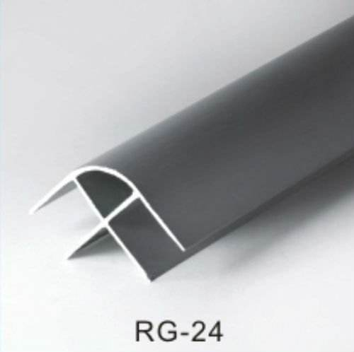 RG 24 Aluminium Toilet Cubicle Partition Corner Profile
