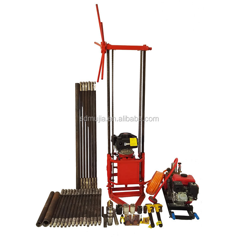 Diesel Borehole Equipment Used Portable Core Drilling Rigs for Sale