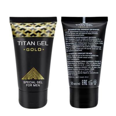 Wholesale Men Sex Product No Side Effects Organic Russia Golld Titan Gel For Penis Enlarge Bigger Longer