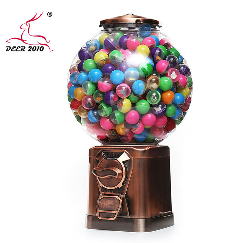 Factory Direct Coin Operated Capsule Toy Gumball Candy Vending Machine