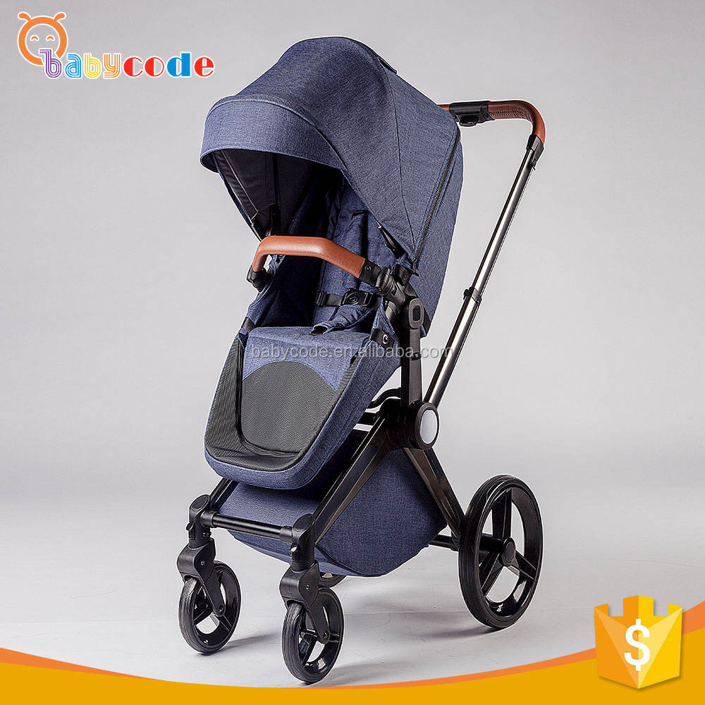 EN1888 luxury 0-36 Months baby carriage stroller with carrycot
