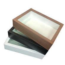 Wholesale MDF craft picture box frame photo 3d shadow specimens box frame