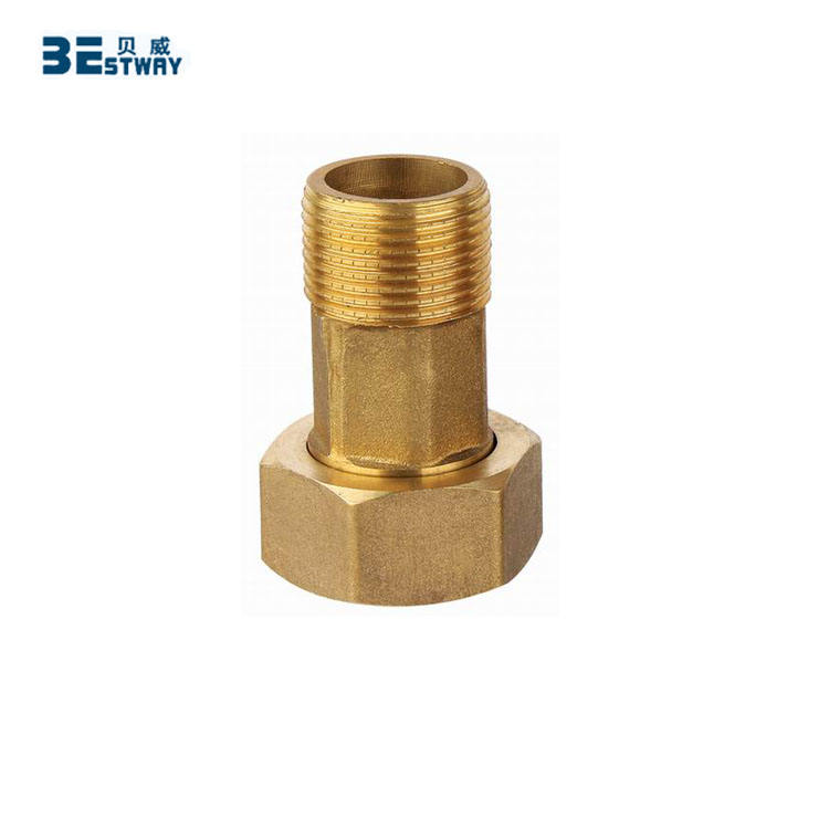 1/2 inch to 2 inch Brass Water Meter Coupling