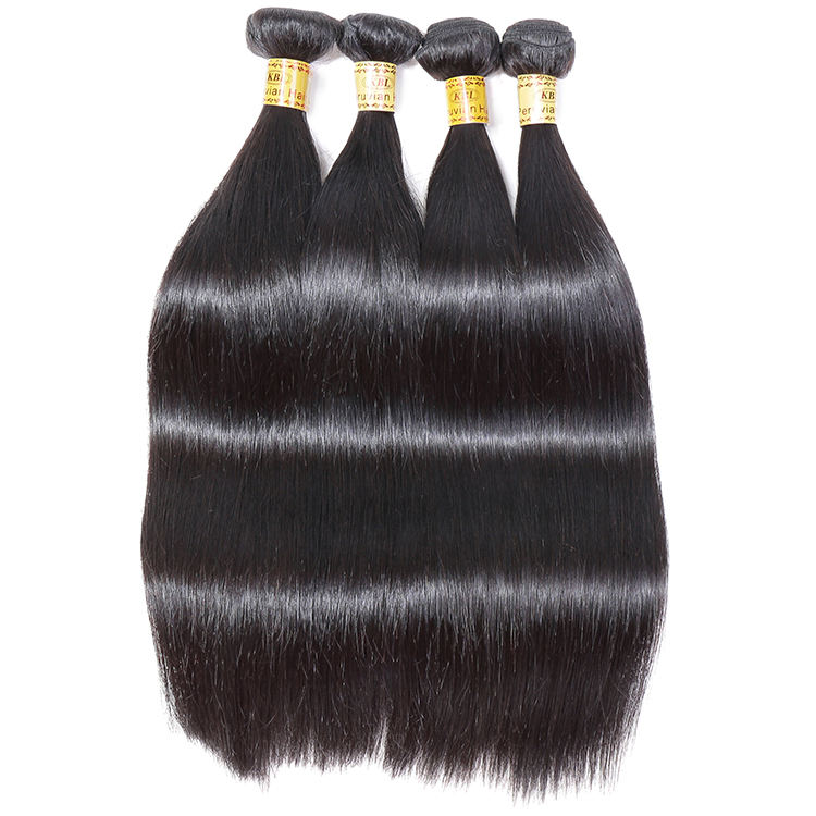 own factory direct sales low production cost high quality virgin cuticle aligned peruvian human hair