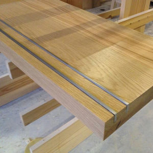Prefinished Eiken Houten Traptreden Met Anti-Slip Strip
