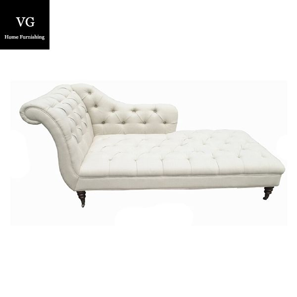 Luxury living room sofa France white wooden funiture optional fabric / leather sofa
