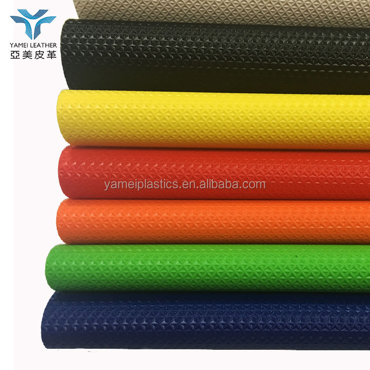 PVC vinyl leather fabric for motorcycle and Motocross seat cover
