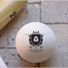 plastic solid standard  polo ball