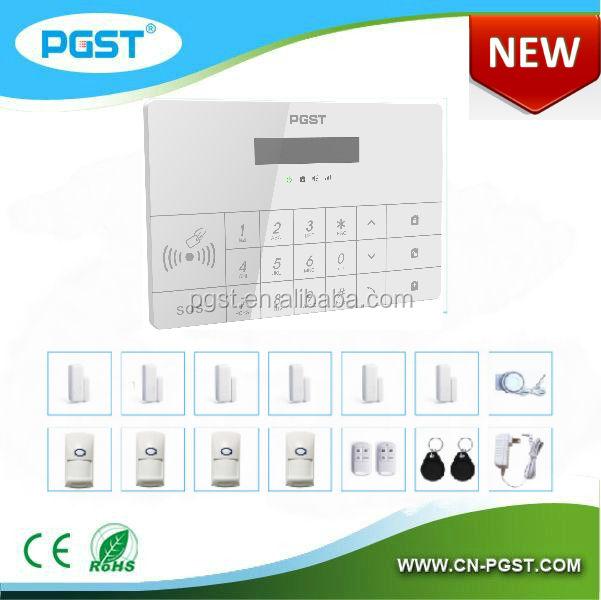 Gsm система сигнализации дома secutity охранник дом с 868 мГц тревожной кнопки, CE & RoHS