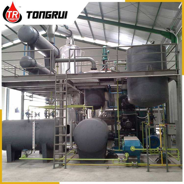 2018 new model hot sale oil refinery in china