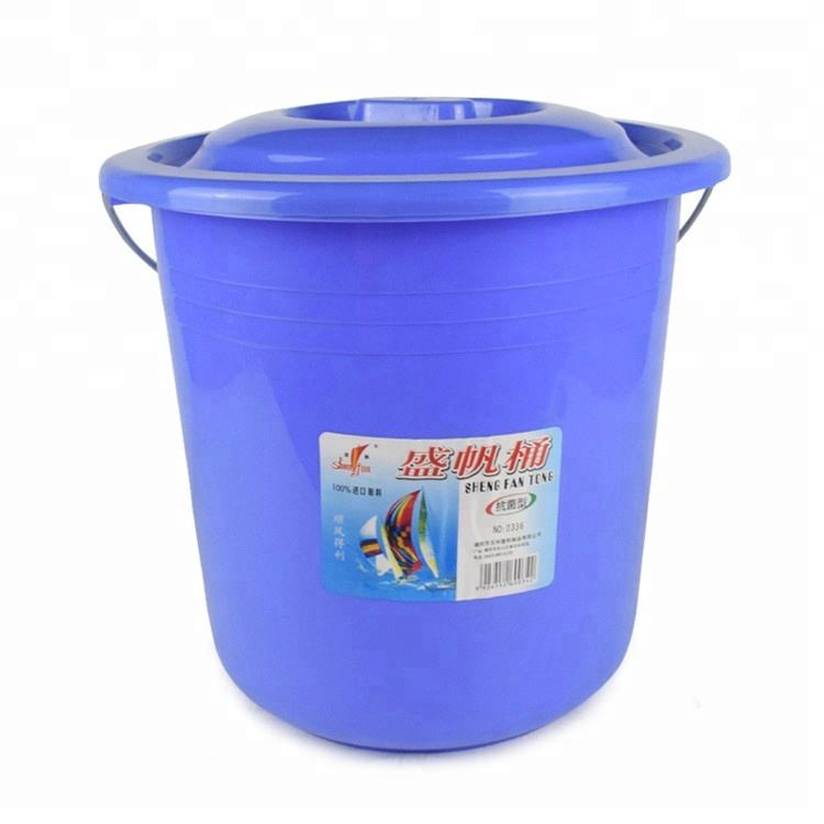 Pp [ Large Bucket ] Cheap Plastic Bucket Price 21L Factory Wholesale Cheap Custom Small Large Pail Plastic Bucket With Handle And Lid For Sale
