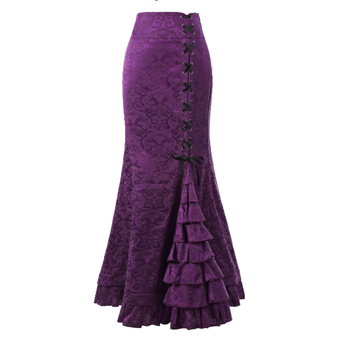 Long Women Fishtail Skirts Ladies Fashion Long Skirts Hotselling Girls Skirts