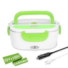 King-Check new product insulated stainless steel food container food grade warmer lunch box electric heating food box