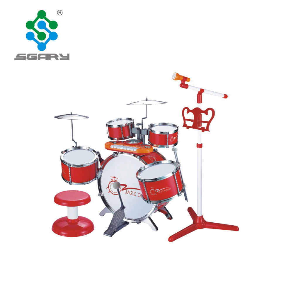 Brand New muziekinstrument jazz drum speelgoed kinderen drum set