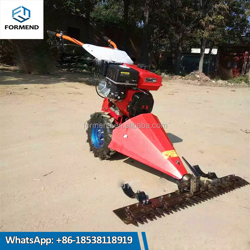 Petrol gas power source sod grass cutter / diesel engine lawn grass cutting machine