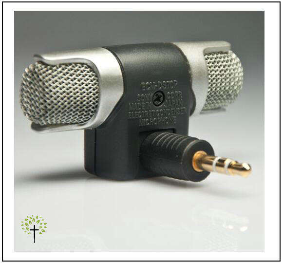 Professional phone mini wireless stereo microphone
