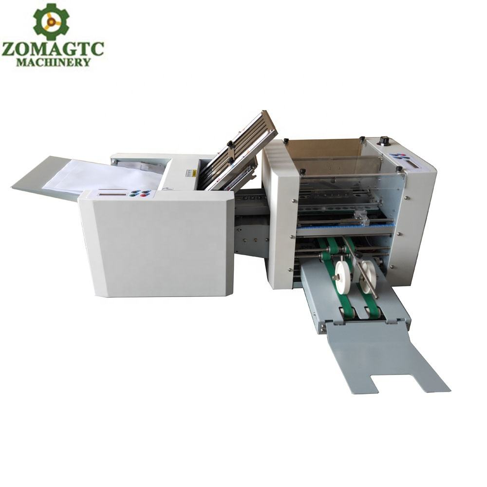 Automatic paper counting and folding machine, cheap paper folding machine