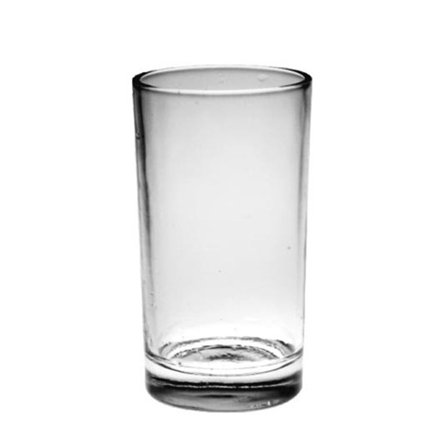 Wedding feast high quality Cylindrical straight shape 9oz 230ml beverage water beer glass cup