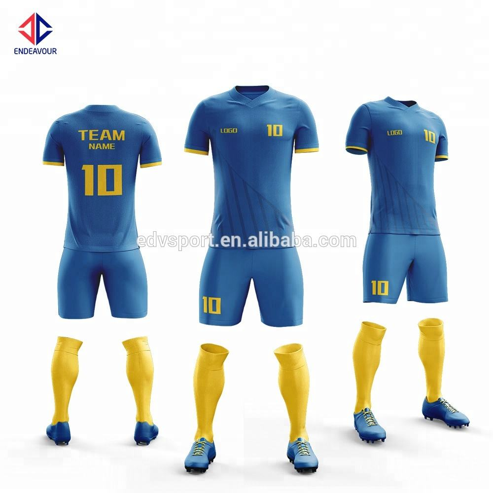 New design cheap soccer clothes