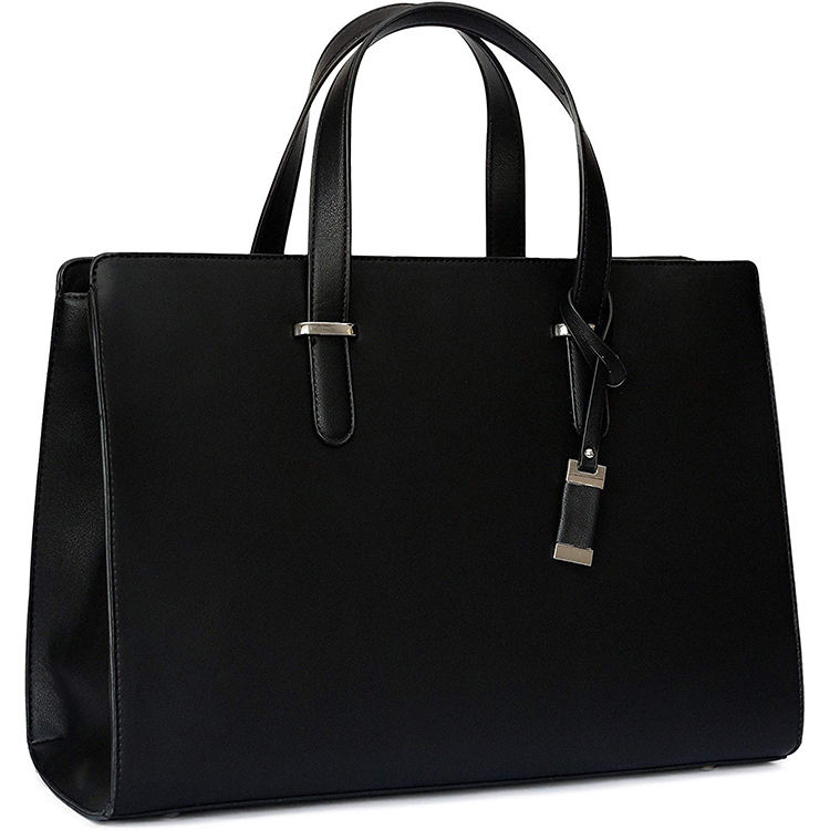 High Quality Messenger Shoulder Bag Leather Large Business Computer Laptop Bag for Women