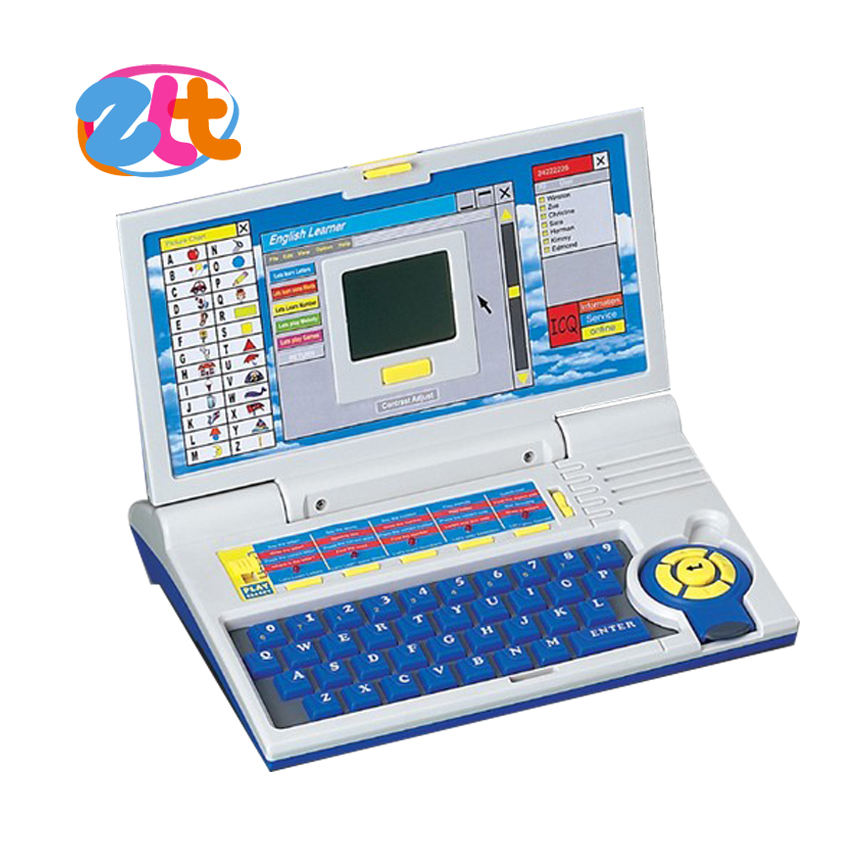 Hot selling multifunctionele kids laptop learning machine speelgoed